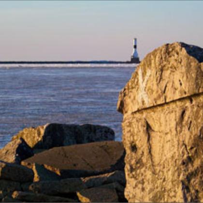 Conneaut, Ohio Lighthouse Photo by Joy Cobb